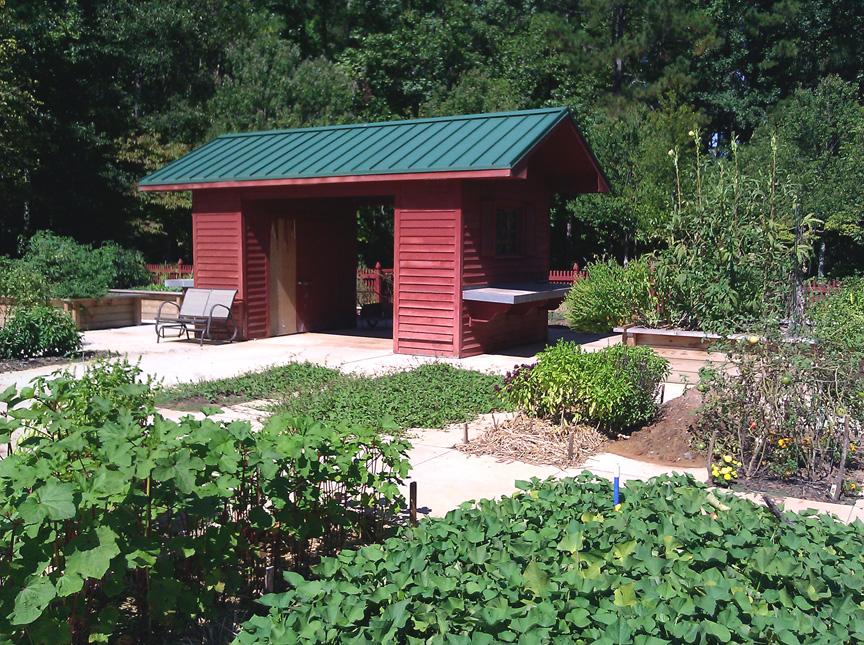 Communing In The Garden Bits And Breadcrumbs