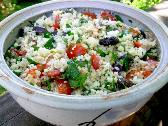 Ready for the picnic, cookout or pot luck, this salad has outdoor fun written all over it!