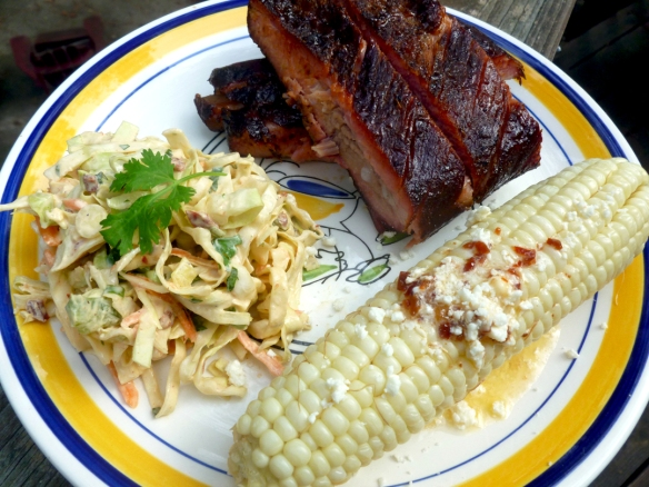 Now THIS is a southern plate of food that makes me grin like a Cheshire Cat!