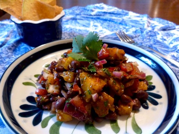With such a fiesta of color, this dish just has to be good!