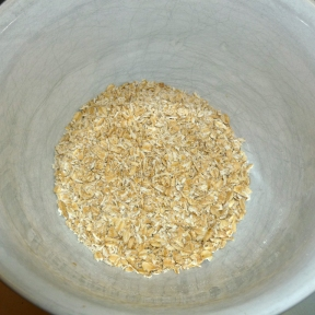 Your pulsed oats will look like this in texture.