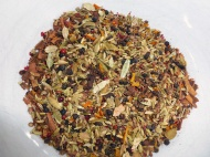 Here's the completed crushed spices mix.