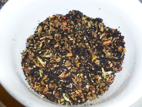 Toss to combine and you have your Chai tea mix!
