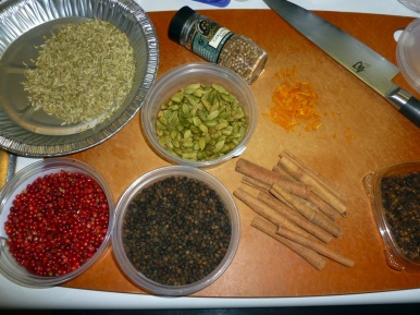 Many spices make for a great Chai Tea Mix.