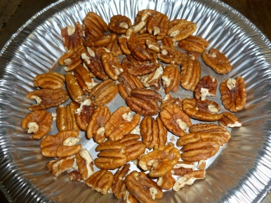Easy recipe...first toast the pecans.