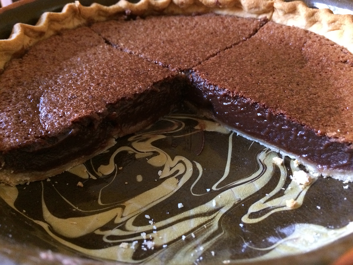 "The BEST Chocolate ""Fudge"" Pie 