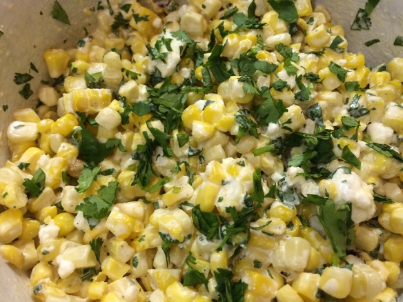 If you only try one of these recipes, don't miss this corn salad!